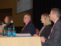 Experts and officials from the oil and gas industry discussed the future of pipeline development in the Mountain State on Wednesday.  Maribeth Anderson, director of government and community relations for Southwestern Energy, moderated the panel discussion.