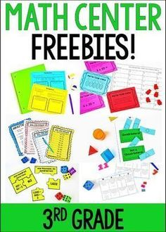 Free Math Centers for Grades 3-5 - Teaching with Jennifer Findley