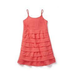 Joe Fresh Kid Girl Tiered Dress