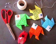 {DIY} Déco Poissons Origami