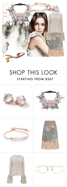 """""""roxariaone loves neutral palette, part two"""" by roxariaone ❤ liked on Polyvore featuring Ippolita, Heaven Tanudiredja, Monica Vinader, Biyan, CO, Eyevan 7285, Gucci, personalstyle, neutralpalette and coolneutrals"""