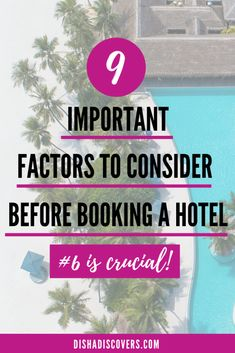 Travel Accommodation Tips: 9 Most Important Factors to Consider Before Booking a Hotel - international travel Travel Advice, Travel Guides, Travel Hacks, Travel Goals, Travel Info, Travel Essentials, Travel Reviews, Travel Gadgets, Travel Articles