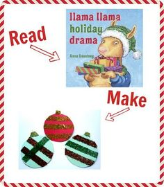25 Christmas books with crafts to match