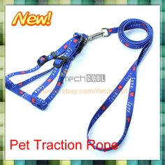 Brand New Hot Sell Practical Pet Dog Doggie Nylon Pulling Lead Harness Leashes $1.25
