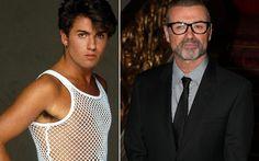 Da regata de furinhos ao terno discreto: O estilo de George Michael mudou muito em mais de 30 anos de carreira do astro . Foto: Divulgação/Getty Images