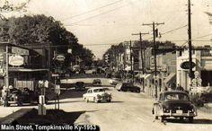 Main Street, Tompkinsville 1953 - Tompkinsville Photo Album - Topix
