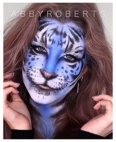 Tiger Makeup, Wolf Makeup, Animal Makeup, Face Paint Makeup, Cat Makeup, Eye Makeup Art, Skin Makeup, Fairy Makeup, Mermaid Makeup