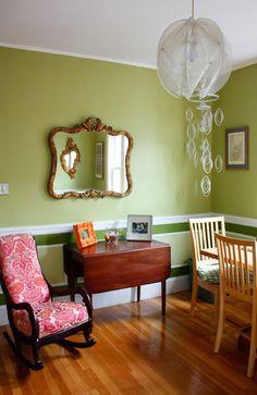 Sarah Amp Craig S Jamaica Plain Treetop Treasure Baby Room Colors Paint Upholstery