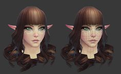 Rift: High Elf Female Head by HazardousArts.deviantart.com on @deviantART