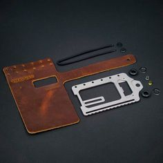 The Trayvax Element is a simultaneously rugged and sophisticated wallet for men or women.