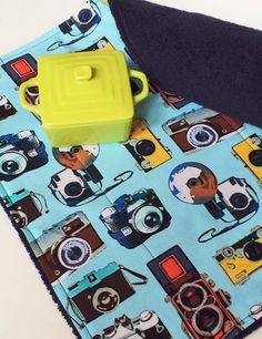 Camera Lens Changing Pad with Monogram by MakingSomethingHappy
