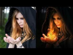 Photo Manipulation-Fire in Hand (click3d) - YouTube