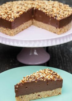 Chocolate Hazelnut Cake, Chocolate Slice, Chocolate Recipes, Baking Recipes, Cake Recipes, Dessert Recipes, Brze Torte, Torta Recipe, Nutella Cake