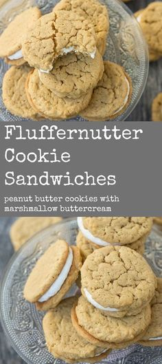 Unbelievable peanut butter cookie sandwiches!