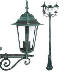Garden Light Victorian Lamp Post Lantern approx. 221 cm Green: Amazon.co.uk: Garden & Outdoors