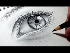 Secrets Of Drawing Realistic Pencil Portraits - Comment dessiner des yeux facilement? [Tutoriel] Secrets Of Drawing Realistic Pencil Portraits - Discover The Secrets Of Drawing Realistic Pencil Portraits Cartoon Sketches, Drawing Sketches, Draw Realistic, Realistic Rose, Easy Drawings, Pencil Drawings, Anime Comics, Drawing Quotes, Portrait Illustration