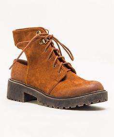Dark Rust Valiant Boot #zulily #zulilyfinds