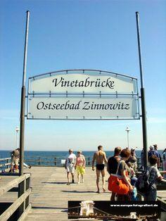 Seebrücke Zinnowitz 12.07.2005