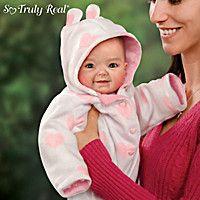Doll: Cutest Baby Of 2014 Portrait Savana Baby Doll