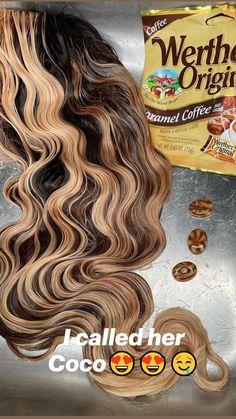 Black Girl Braided Hairstyles, Black Girl Braids, Wig Hairstyles, Wavy Hair, Dyed Hair, Hot Hair Colors, Barbie Hair, Brown Hair, Black Hair