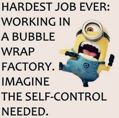 Funniest Minion Quotes and pictures of The week. are you Looking for some of the best funny minion quotes to share with your awesome friends? your on right place Humor Minion, Funny Minion Memes, Minions Quotes, Memes Humor, Funny Relatable Memes, Funny Jokes, Hilarious, Humor Quotes, Funny Sayings