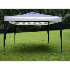 ProGarden Top/Steel Frame Canopy Tent  sc 1 st  Pinterest & Quik Shade 6 ft. x 6 ft. Blue Go Hybrid Compact Backpack Canopy ...