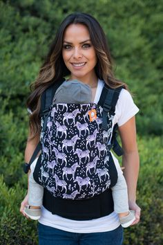 Tula Incognito Zebra Baby carrier for infants and toddlers Kelly's Closet