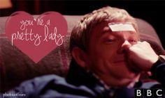I will pin Sherlock Valentines no matter what time of the year it is. Sherlock 3, Sherlock Holmes, You Funny, Hilarious, Benedict Cumberbatch Sherlock, 221b Baker Street, John Watson, Johnlock, Martin Freeman