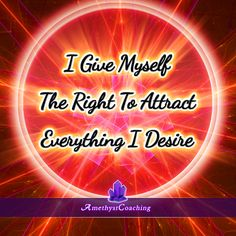 Today's Affirmation: I Give Myself The Right To Attract Everything I Desire <3 #affirmation #coaching http://www.loapower.net/you-make-your-destiny/