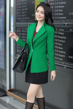 2014 Fall Korean Blazer Jacket YRB0279