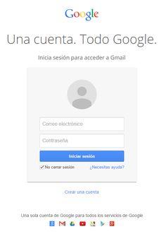Crear correo Gmail