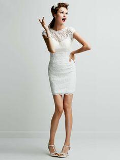 Perfect Reception Dress I Style #231M28570 I @David's Bridal