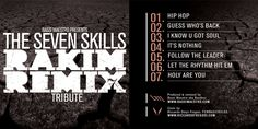 Rakim - the Seven skills (Remixed by Bassi Maestro) Artwork: Riccardo Fregosi