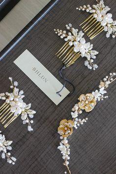 BHLDN (Anthropology bridal line) Percy Handmade_bridal hair accessories 1