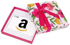 Gift Card - In a Gift Box, gift ideas for girls. Amazon.co.uk Gift Card is presented in a free gift box A personalised gift note can be delivered with the item, which will be printed on the packing slip (separate from the gift box). Once you have added the item to your Shopping Basket, tick the box for 'This will be a gift', you will then be prompted to add your message during Checkout. Eligible for FREE One-Day Delivery Gift Card. (ad)