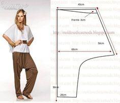 Ideas para el hogar: Corte y confección : Pantalón corte original