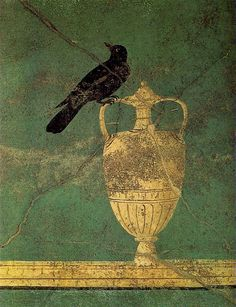 Anonymous Grave Painting in the Ruins of Pompeii