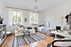 27 square meters studio apartment