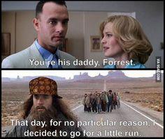 Had Forrest Gump been Scumbag Steve