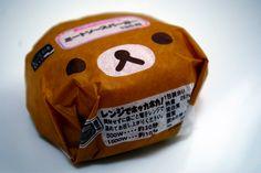 Burger packaging.