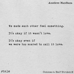 What Love Isn't//Yrsa Daley-Ward   lovely words   Love ...