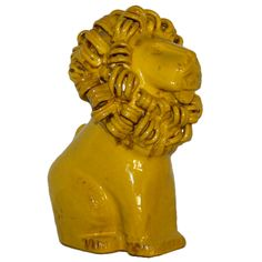 View this item and discover similar for sale at - Italian ceramic lion sculpture Mid Century Modern Furniture, Furniture Styles, Timeless Beauty, Ceramic Pottery, Farm Animals, Mid-century Modern, Lion Sculpture, Clay, Ceramics