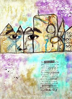 froebelsternchen: Favourite Quotes & Poems at Art Journal Journey Challenge