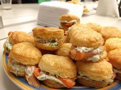 Smoked salmon sandwiches [OC] [1920x1440] #foodporn #food #foodie #yummy #yum #foodgasm #nomnom #delicious #recipe