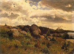 Fanny Churberg (1845-1892) Vanha paja 1879.  Pohjanmaanmuseo - Taidekokoelmat