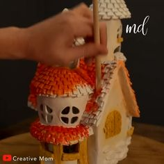 Projects to try doll house ideas diy doll accessories diy fairy doll doll house american doll crafts doll Doll House Crafts, Diy Home Crafts, Doll Crafts, Clay Crafts, Crafts For Kids, Paper Crafts, Clay Fairy House, Fairy Garden Houses, Barbie Doll House