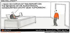 Automatización de los #rrrhh. 3humor