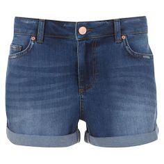 Buy Mint Velvet Indigo Denim Shorts, Blue Online at johnlewis.com