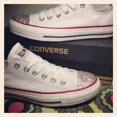 Bling sneakers.... Saladovintagecakery.com Interested in a pair send me a message!!