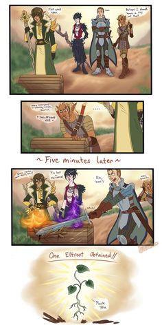 Dragon Age: The Gang Wants Something Opened by Luciferific on DeviantArt